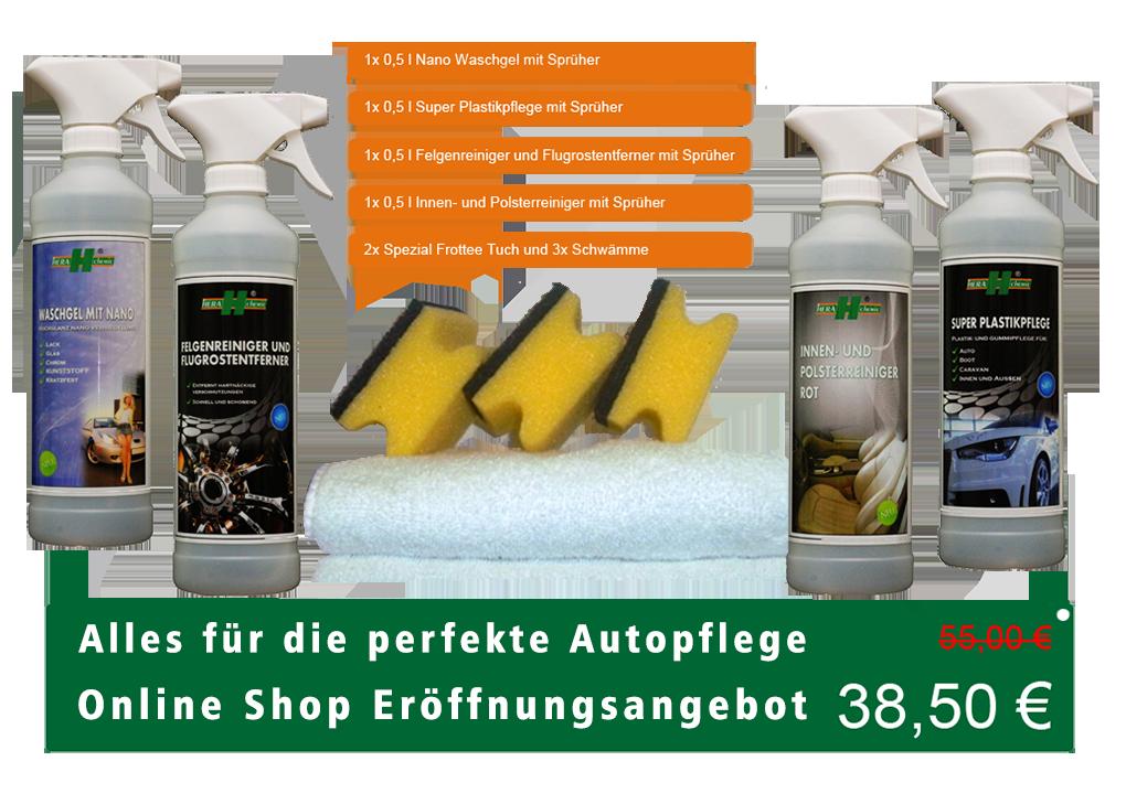 Hera Chemie Spezial Set Auto Pflege
