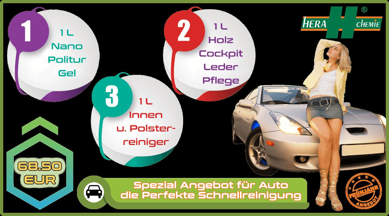 Spezial Angebot für das Auto – Leicht, die Perfekte Schnellreinigung